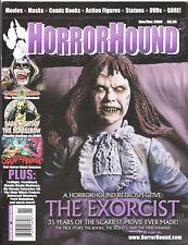 HORRORHOUND # 14 HORROR MAGAZINE THE EXORCIST SPLATTERHOUSE GORGON VIDEO