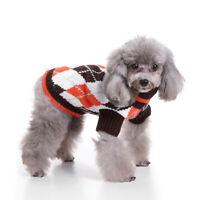 Vêtements pour animaux de Compagnie Sweater pull en laine pour chien chat S-XXL