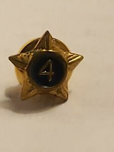 Boy Scouts 4 Years of Service Star Pin