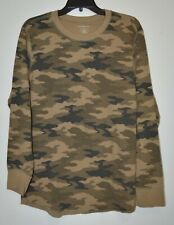 Croft & Barrow Men's Camouflage Long Sleeve Shirt Size: L