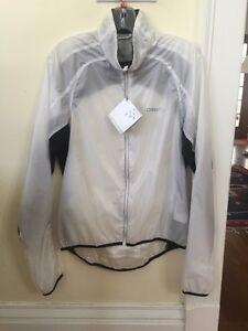 New Men's Craft Performance Light Jacket Size Medium White