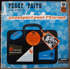 PERCY FAITH PASSEPORT POUR L'EUROPE FRENCH LP DISQUES PHILIPS