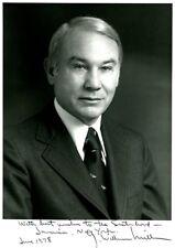 Treasury Secretary G. WILLIAM MILLER Signed Photo