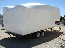 Marine, Boat,  Construction Shrink Wrap 17' x 110'-7m DIY Blue