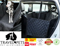 Premium Dog Car Backseat Cover Hammock Protection Waterproof Scratch Proof Pet