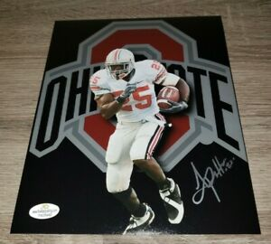 Antonio Pittman  signed autographed  Ohio State Buckeyes Legend 8x10 photo
