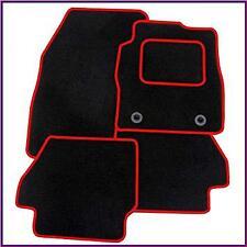 SKODA CITIGO (2012 on) TAILORED CAR MATS CARPET MAT RED TRIM & CLIPS