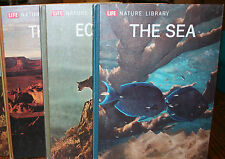3 LIFE NATURE LIBRARY, HB 1970, SEA, ECOLOGY, THE EARTH