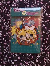 Vocaloid Powerpuff Rubber Key Chain Ring Rin & Len Kagamine