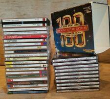 Lot Of 31 Discs CD Classical Music Top 100 Pieces Beethoven Mozart Vivaldi The