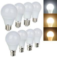 E27 es B22 BC Bombilla LED regulable Globo Luces 3W 5W 7W 9W 2835 SMD Blanco Lámparas RC