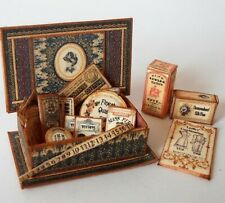 Dolls house printie KIT - Sewing Box & Haberdashery Camille-FREE UK POST