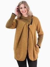 Cappotti e giacche da donna in lana giallo
