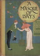 Walter Crane / Masque of Days from the Last Essays of Elia Newly Dressed 1st ed