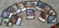 World of Warcraft Card game Card Collection. lot of 16 slightly used
