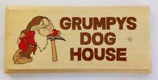 Grumpys DOG HOUSE Placca / firmare-marito Capannone Garage Papà 471