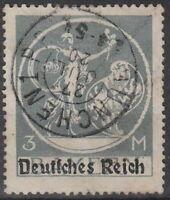Stamp Germany Reich Mi 134 Sc 271 1920 Farewell Series Bavaria Genuis OP Used