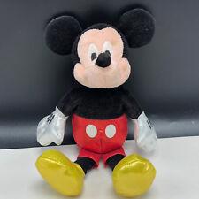 WALT DISNEY PLUSH STUFFED ANIMAL TOY vintage mickey mouse TY sparkle theme park