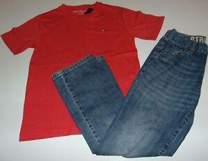 ~NWT Boys TOMMY HILFIGER Top & EUC GYMBOREE Jeans! Size 8-10 Nice:)!