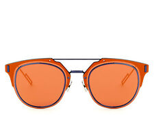 Dior Composit 1.0 Mirrored Sunglasses in Orange