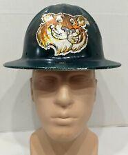 Vintage Aluminum hard hat painted & personalized.
