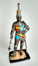 Tin Toy Soldier Knight Richard Neville, Hand Painted Metal Miniature 1/32 54mm