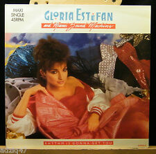 ♫ MAXIS 45 T -GLORIA ESTEFAN AND MIAMI SOUND MACHINE-RYTHM IS GONNA GET YOU ♫