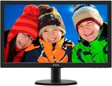 Philips 223V5LHSB/00 21.5 inch LED Monitor - Full HD 1080p, 5ms Response, HDMI