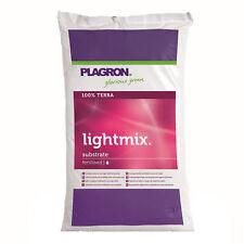 Plagron Light Mix 50 L Erde Anbauerde Perlit GROW Pflanzen Anzucht Vorzucht