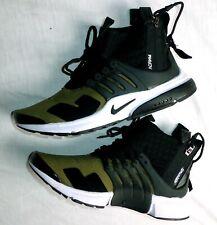 Nike Acronym Presto Dark Olive$350 Size 42 Glue faulty front