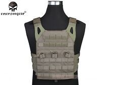 Tactical JPC Vest Easy Type EMERSON Hunting Airsoft Army Gear Carrier FG 7344B