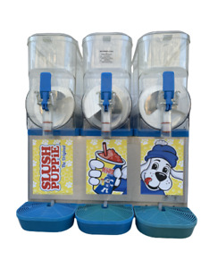 FMS 3 Slush Puppie Machine 60 Day Warranty Factory Tested Free Shipping