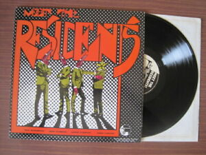 THE RESIDENTS MEET THE RESIDENTS  LP
