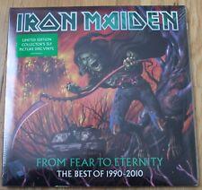 Iron Maiden, from fear to Eternity - best of, 3LP - 33 tours Picture disc - neuf