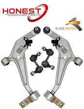 For NISSAN XTRAIL T30 2000-2007 FRONT LOWER WISHBONE CONTROL ARMS X2 & LINKS X2