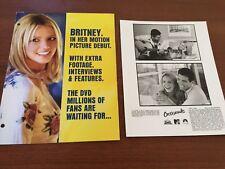 Crossroads Britney Spears Anson Mount 8x10 Press Photo & Brochure DVD Release