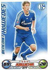 277 Benedikt Höwedes - FC Schalke 04 - TOPPS Match Attax 2009/2010
