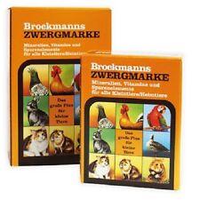 Brockmanns Zwergmarke 5 kg Mineralien und Vitamine für Geflügel Taube und Nager