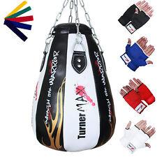 TurnerMAX Maize Bag Maize Ball Punch Bag Upppercut Bag Punchbag Black White