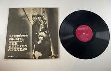 The Rolling Stones - December's Children Vinyl LP - Mono LL 3451 - CAN Record
