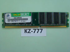 CORSAIR VALUE SELECT-DDR 512 MB-DIMM 400 MHz/pc3200-cl2.5 #kz-777
