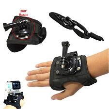 360 Degree Rotation Wrist Hand Strap Band Holder w/ Mount GoPro Hero 4 3 3+ 2