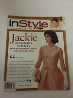 1995 OCTOBER IN STYLE MAGAZINE - JACKIE KENNEDY FRONT COVER - FASHION - EUC