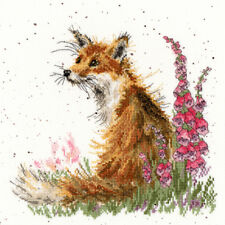 Bothy Threads Cross Stitch Kit XHD8 Amongst The Foxgloves 14 Count Aida 26cm X