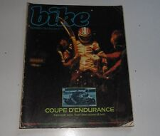 Bike Motorcycle Magazine Dec 1981 Coup D'Endurance
