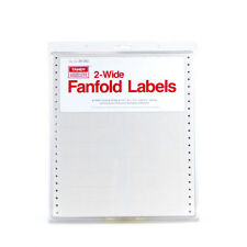 Tandy Computer Products Cat. No. 26-262 2 Wide Fanfold Labels