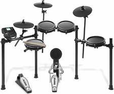 Drumsets Alesis Nitro Mesh Kit E Schlagzeug Aluminium 8 Teile Trommel schwarz