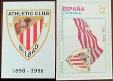 SPAGNA SPAIN / 1998 ENTEROS POSTALES TARJETA ATHLETIC BILBAO EDIFIL 37 ** MNH