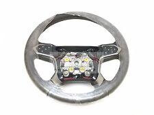 Chevrolet Silverado Leather Steering Wheel Cocoa w/ Gray Stitch New OEM