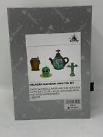 Disney Parks Haunted Mansion Mini Tea Set Hitching Ghosts Gargoyle Skull NWT WDW